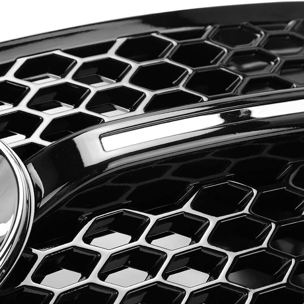 Qiilu 2 st/ücke Nebelscheinwerferabdeckungen Auto Nebelscheinwerfer Grill Lampenabdeckung Trim SQ5 Stil Fit f/ür Q5 2009-2015