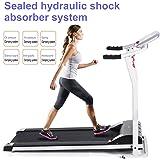 Asatr Easy Assembly Folding Electric Treadmill Motorized Running Machine