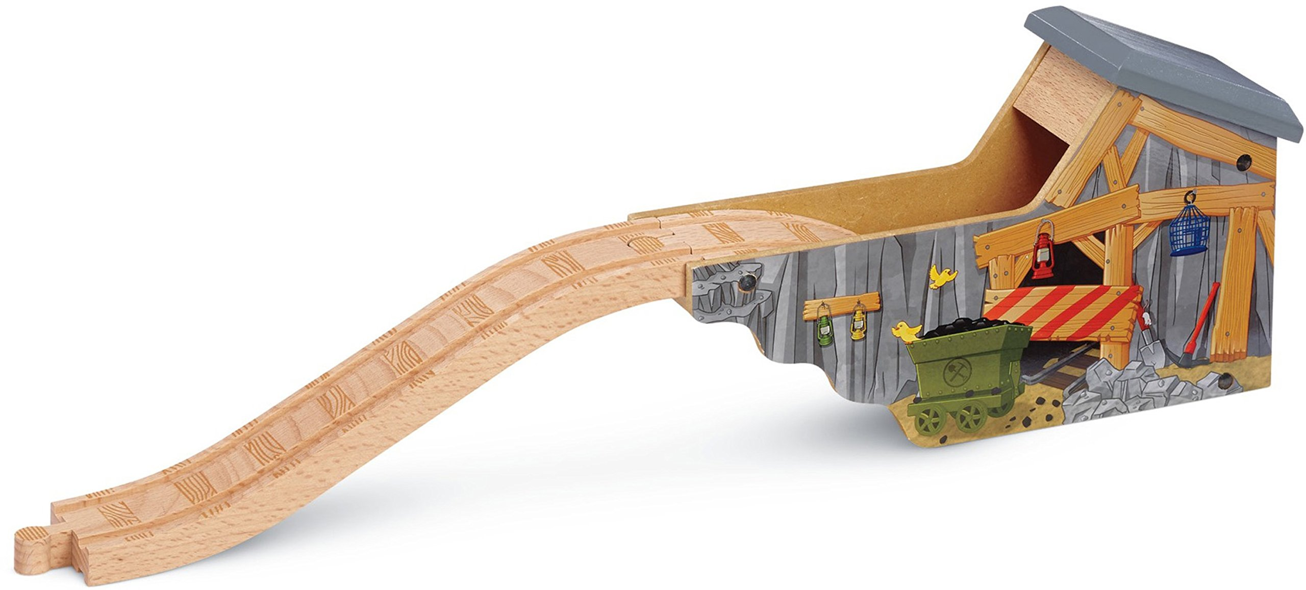Thomas & Friends Fisher-Price Wooden Railway, Quarry Mine Tunnel Playset