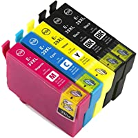 Generic Epson 39XL 39 Ink Cartridge for Epson Expression Home XP-2105/XP-4105 (2Black + 1Cyan + 1Magenta + 1Yellow)