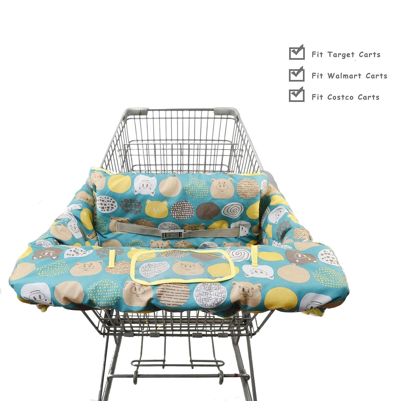 Amazon.com: Funda de algodón 2 en 1 para carrito de la ...