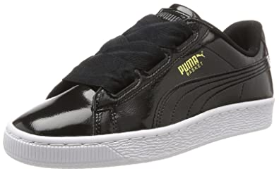 bb95c890d7 Puma Unisex-Kinder Basket Heart Glam Jr Sneaker: Amazon.de: Schuhe ...
