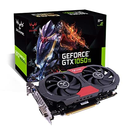 UMFun Colorful iGame GTX 1050 Ti Gaming Graphics Card,GPU 4GB GDDR5 128bit Video Cards