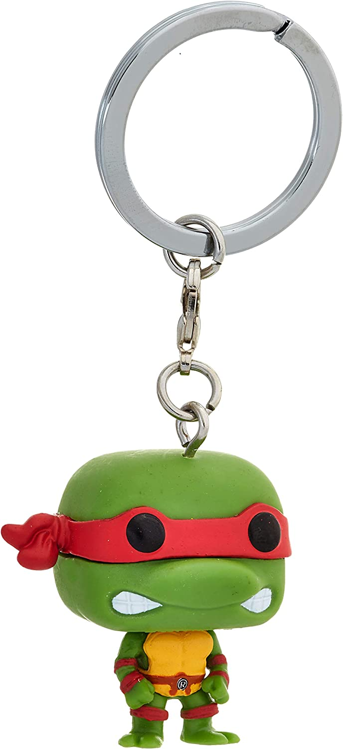 Teenage Mutant Ninja Turtles Leonardo Funko Pop Vinyl Figure Pocket Keychain