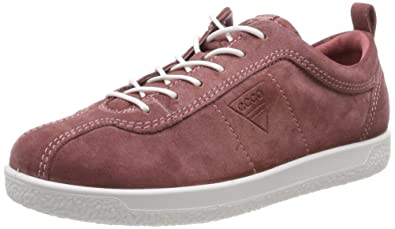 9d13d80eb4 Amazon.com | ECCO Women's Soft 1 Ladies Low-Top Sneakers, (Petal ...