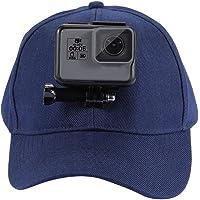 waysad Cappello da Baseball con Fibbia A Gancetto E Vite per GoPro New Hero / HERO6 / 5/5 Session / 4 Session / 4/3 + / 3/2/1 Action Cameras