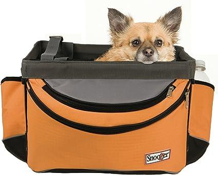 Snoozer Sporty Bike Basket, Orange/Grey/Black - Best For Protection