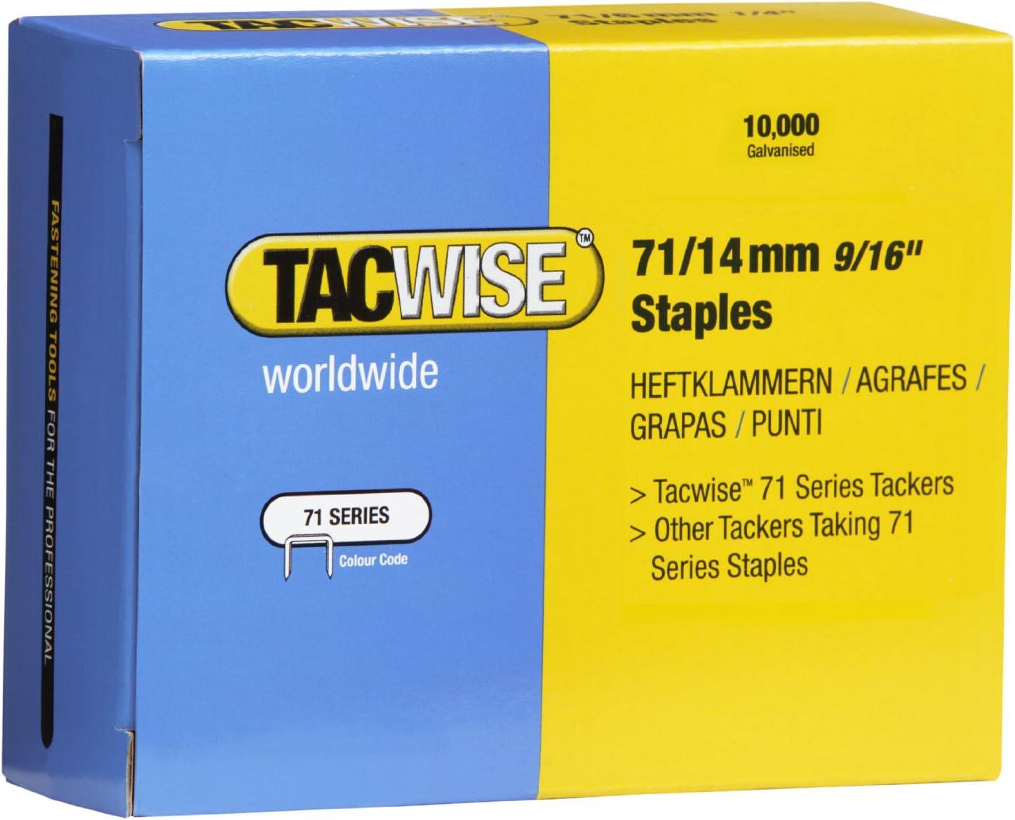 Tacwise 0371 Heftklammer 14 mm 10000 St/ück