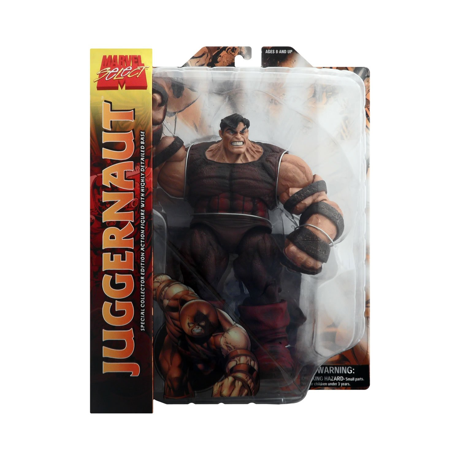 Diamond Toys Marvel Select Juggernaut w// Helmet Action Figure Brand New Rare