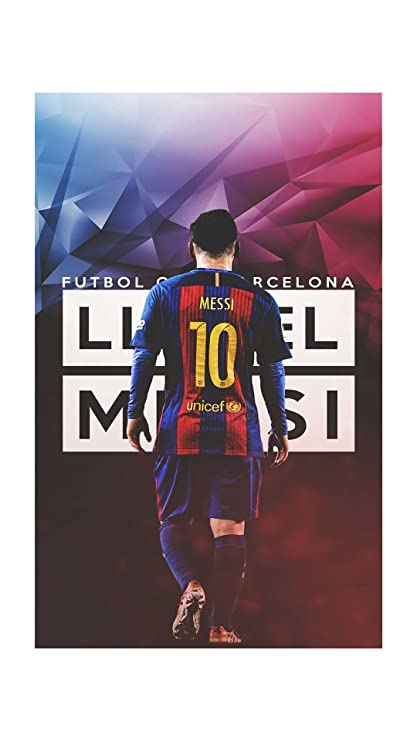 dd1d92d804a Hk Prints Barcelona Messi Wall Poster (Matte Finish_12x18 Inch_Multicolor):  Amazon.in: Home & Kitchen