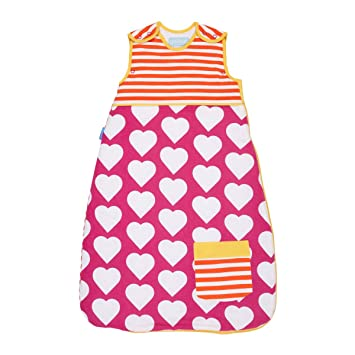 Amazon.com: Grobag Baby Sleeping Bag - Pocketful of Love 2.5 Tog (18-36 Months): Baby