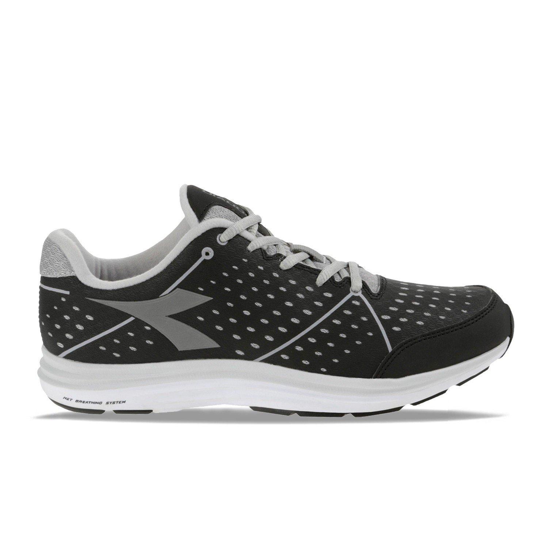 Diadora 159.943 NJ 404 1 W schwarz grau Schuhe Turnschuhe Sport Frau läuft Fitness