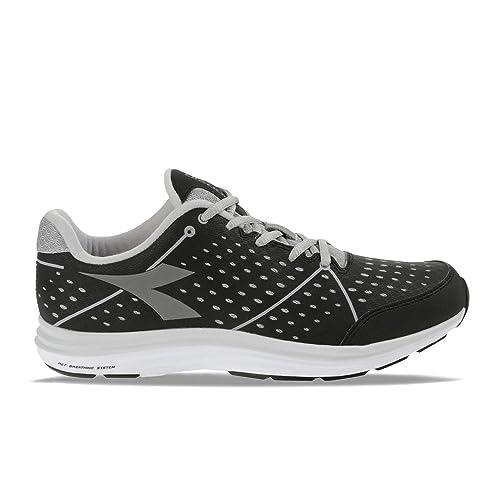DIADORA 159.943 NJ 404 1 W Zapatos Grises Negras Zapatillas de Deporte Fitness Mujer Corriendo 38.5: Amazon.es: Zapatos y complementos