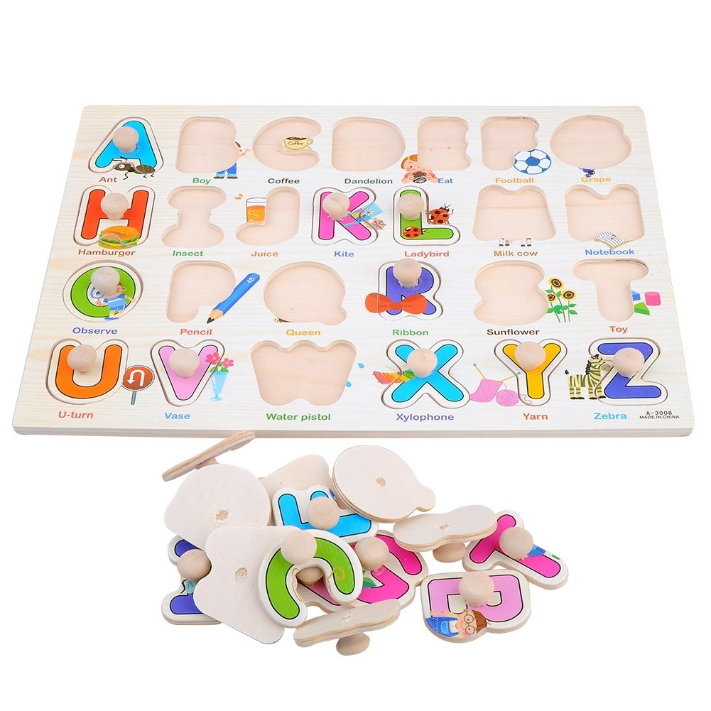 XJG Kid's gift-3D Wood puzzle