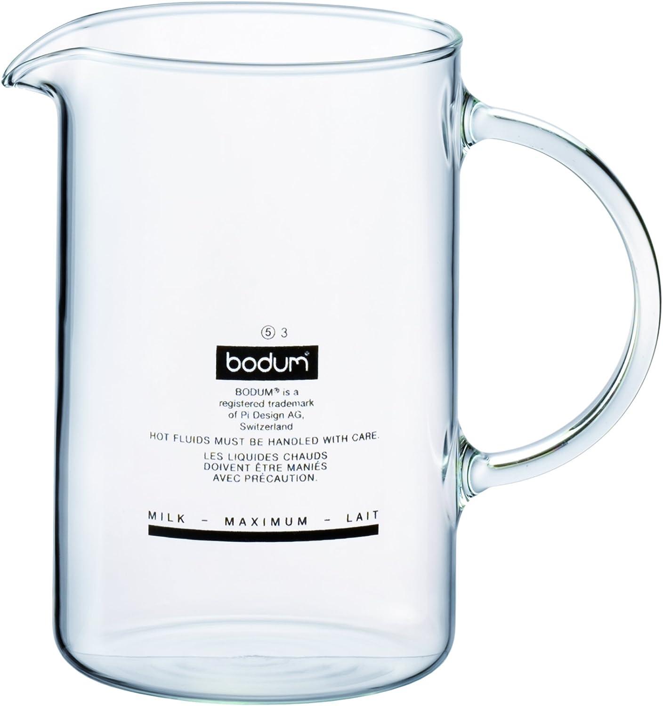 Bodum Spare Beaker - Cristal de repuesto para batidor de leche 1966, color transparente