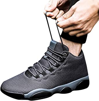 Chaussures De Basketball pour Homme,LANSKIRT Chaussure De Securit/é Homme Basket Securite Femmes Militaire Protection Travail Confortable Baskets Respirantes en Mesh