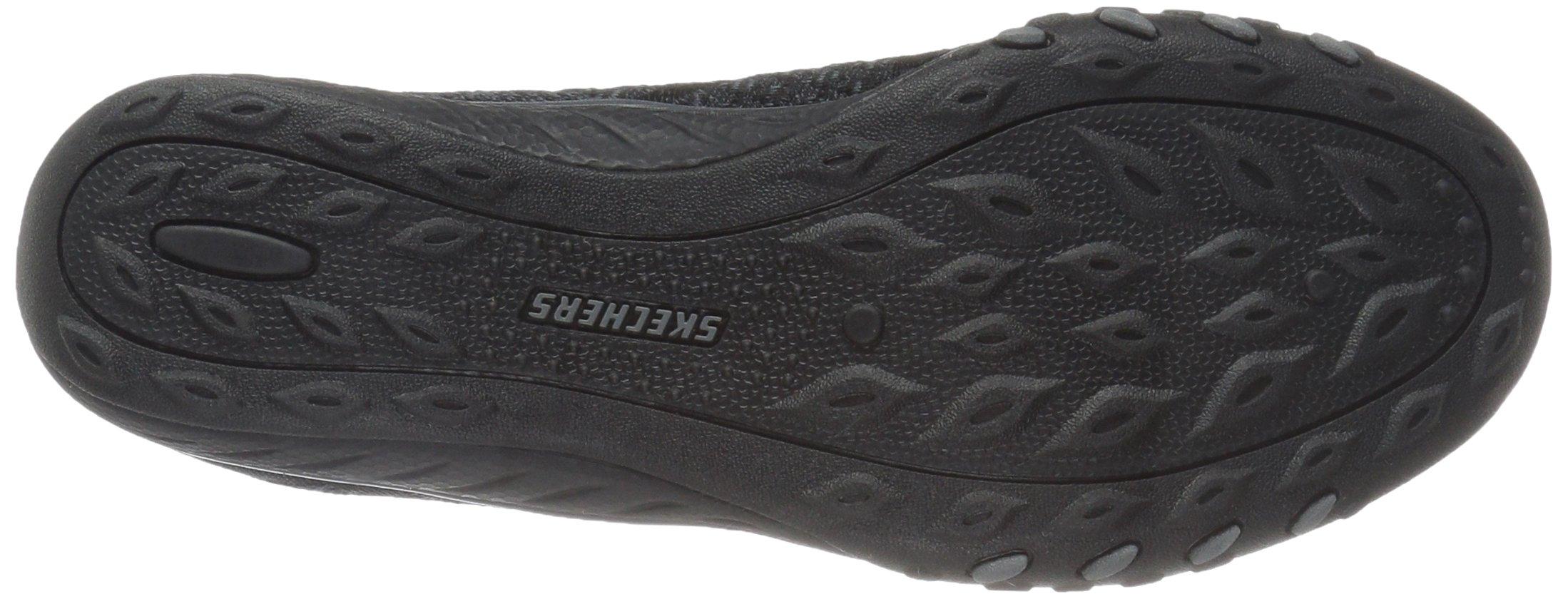 Skechers Sport Women's Breathe Easy Fortune Fashion Sneaker,Black Knit,5 M US by Skechers (Image #3)