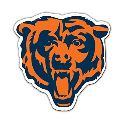 Chicago bears vinyl. Fremont die nfl inch