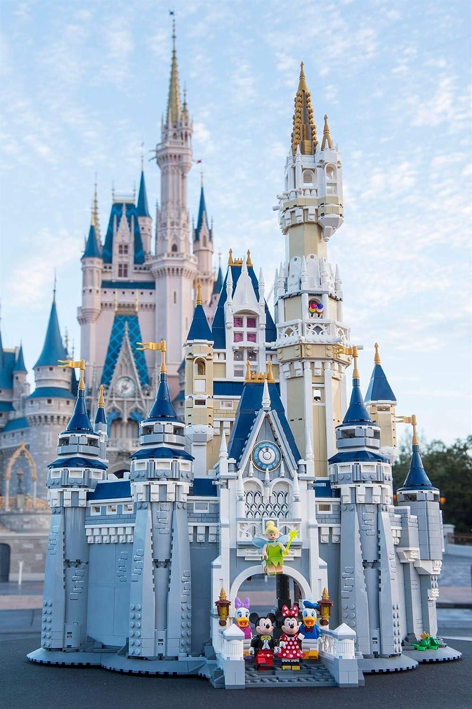 LEGO Exclusives Castillo Disney - Juegos de construcción (Multicolor, 16 año(s), 4080 Pieza(s), 48 cm, 31 cm, 74 cm): LEGO: Amazon.es: Juguetes y juegos
