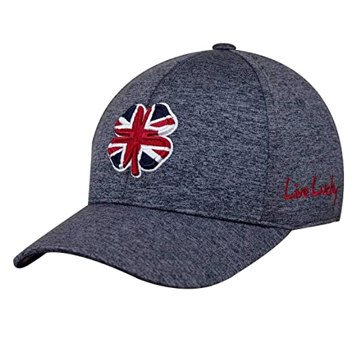 798379b3ead Black Clover Live Lucky UK (United Kingdom) Heather Premium Fitted Cap Hat  (S