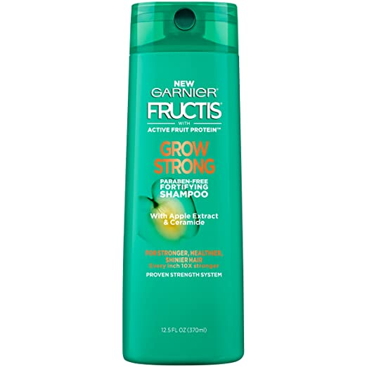 Garnier Hair Care Fructis Grow Strong Shampoo, 12.5 Fluid Ounce