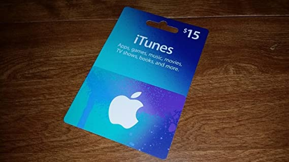 Amazon.com: Apple iTunes Prepaid Card $15