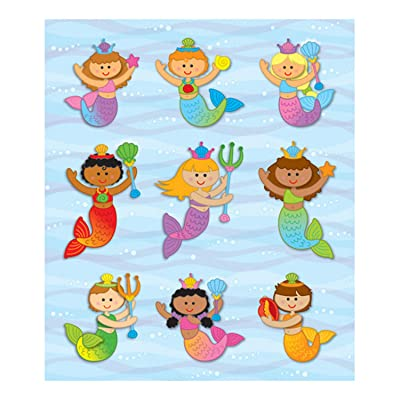 Carson Dellosa Mermaids Prize Pack Stickers (168044): Carson-Dellosa Publishing: Office Products