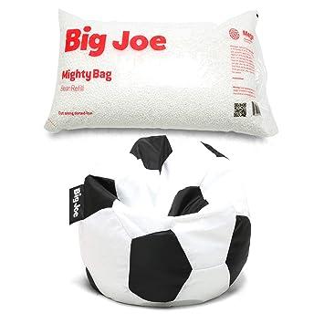 Amazon.com: Big Joe – Puf deportivo en paquete de bolas de ...