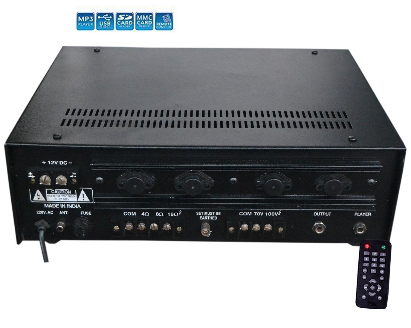 Medha Dj Plus Professional 160 Watt Power Amplifier With Digital Am Modulator And 50w Rf Output Stage Media Plaer Musical Instruments