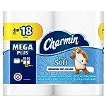 Charmin Papel Higiénico, Ultra Soft 4, Mega Rollos Plus
