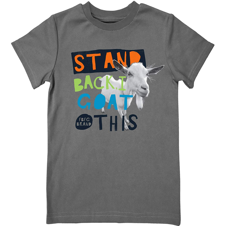 Farm Boy Youth Boys Stand Back I Goat This Short Sleeve Shirt