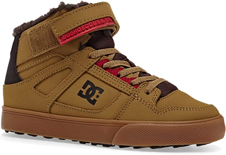 DC Shoes Jungen Pure High Top Winter Skateboardschuhe