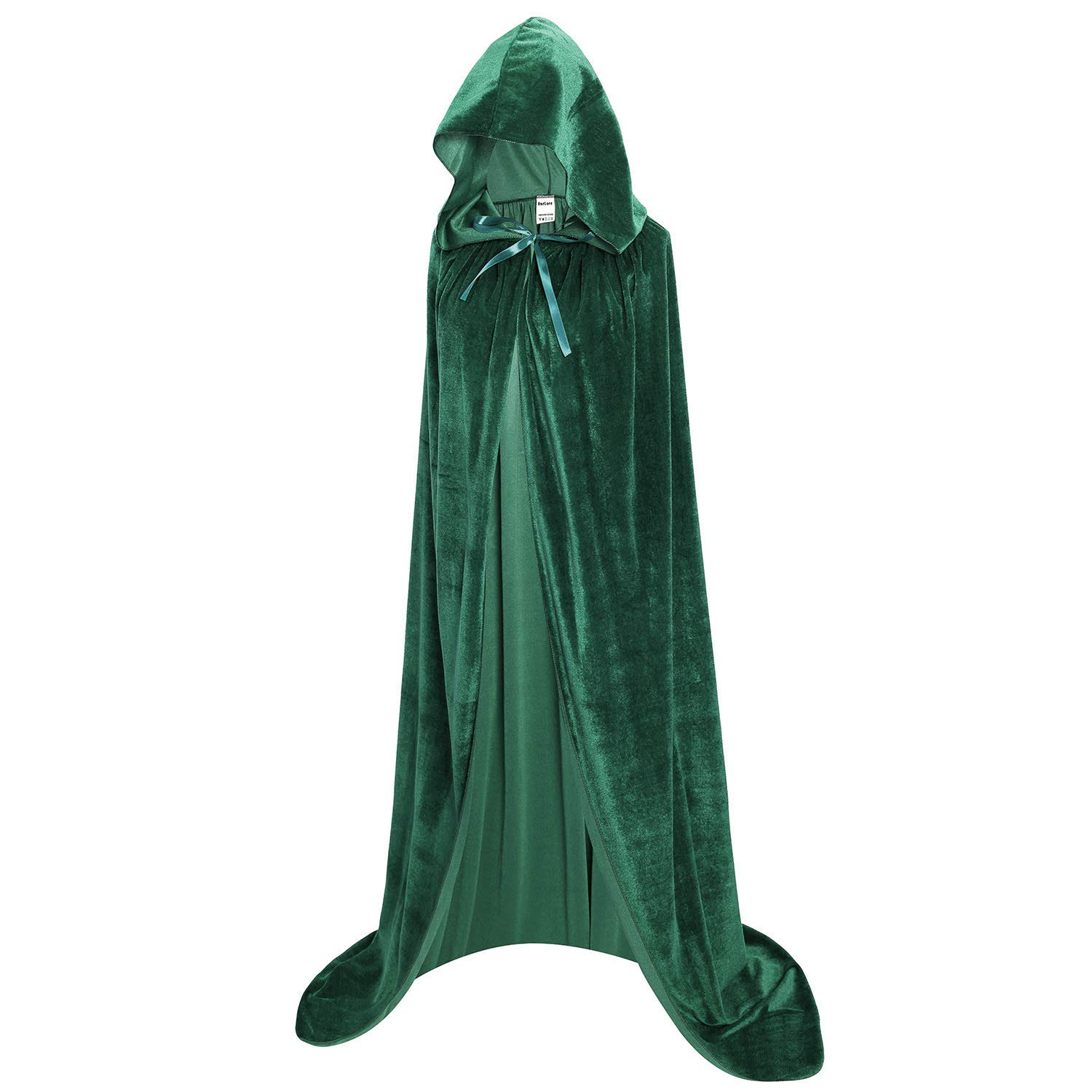 New Ourlove Fashion Unisex Full Length Hooded Cape Halloween Christmas Adult ..