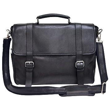 17da62b0377e Amazon.com  Bellino Marshall Leather Briefcase