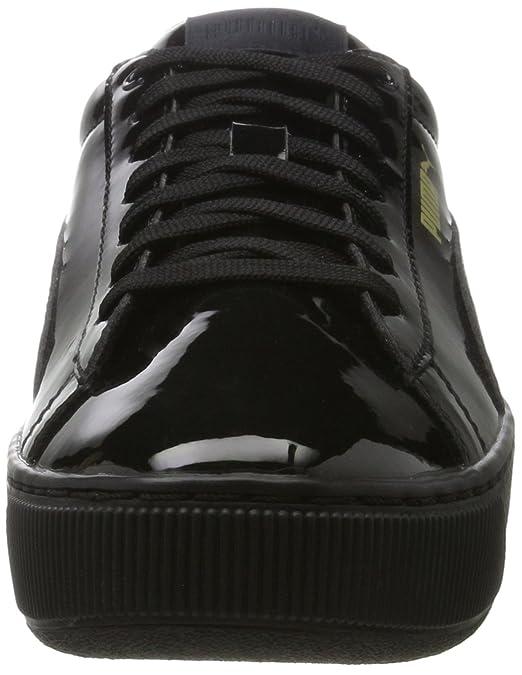 Vikky Ribbon P, Baskets Basses Femme, Noir Black Black, 38 EUPuma