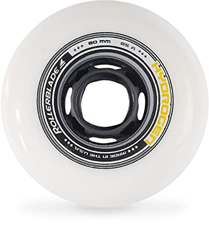 Rollerblade - Ruedas para patines hydrogen 80/85a, color blanco