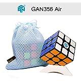 OJIN Gans 356 Luft Standard 3x3 Geschwindigkeit Cube Gan356 Air Magic Cube Puzzles Glatte Gehirn Teaser Spielzeug Stativ und Tasche (Schwarz)