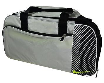 Nike Sport II - Golf Duffle Bag Color  Silver Volt Black Size  M ... 9414316e5fe32