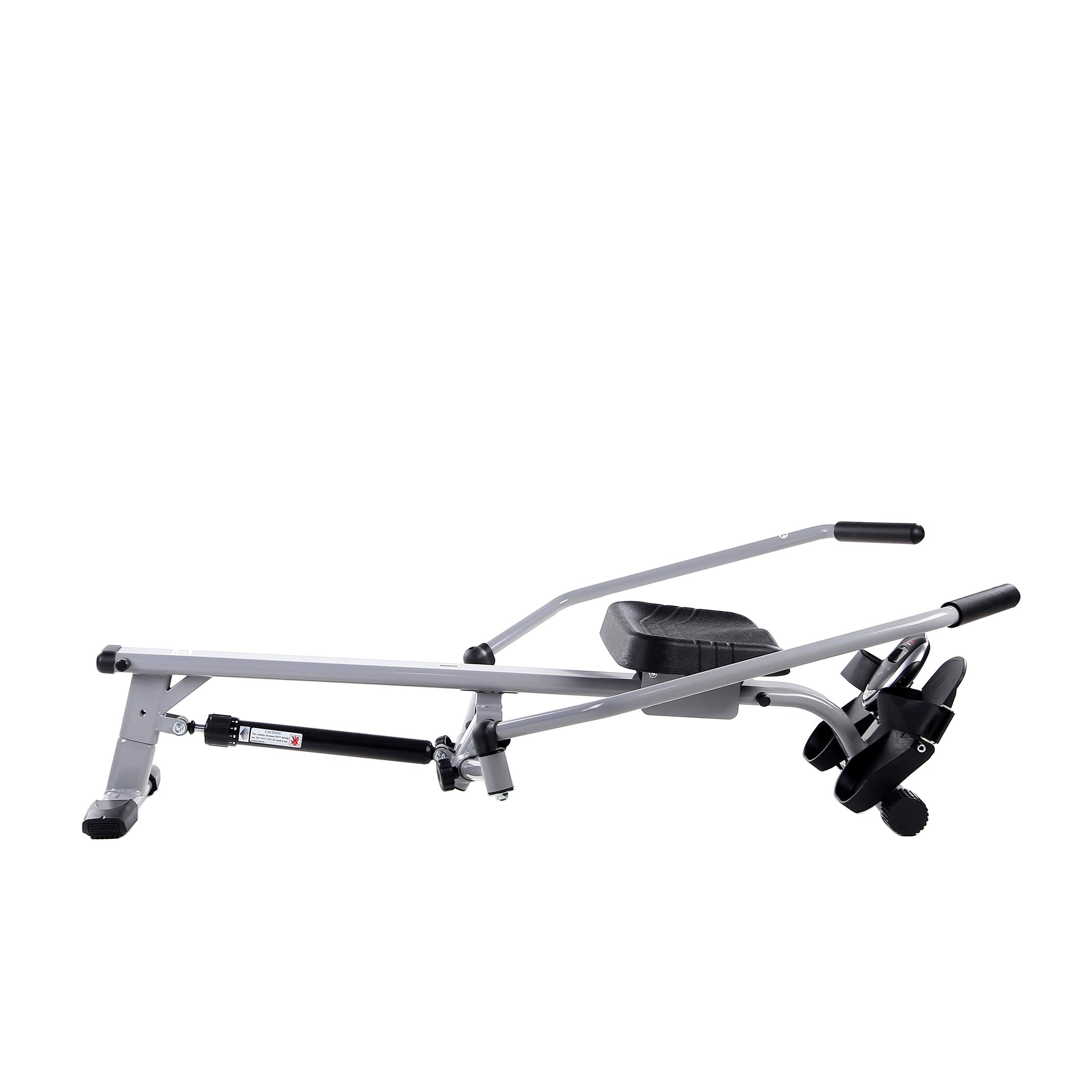 Sunny Health & Fitness SF-RW5639 Full Motion Rowing Machine Rower w/ 350 lb Weight Capacity and LCD Monitor by Sunny Health & Fitness (Image #6)