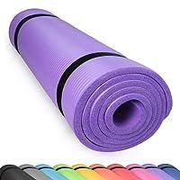 diMio Yogamatte Gymnastikmatte rutschfest mit Tragegurt, phthalatfrei + SGS-geprüft