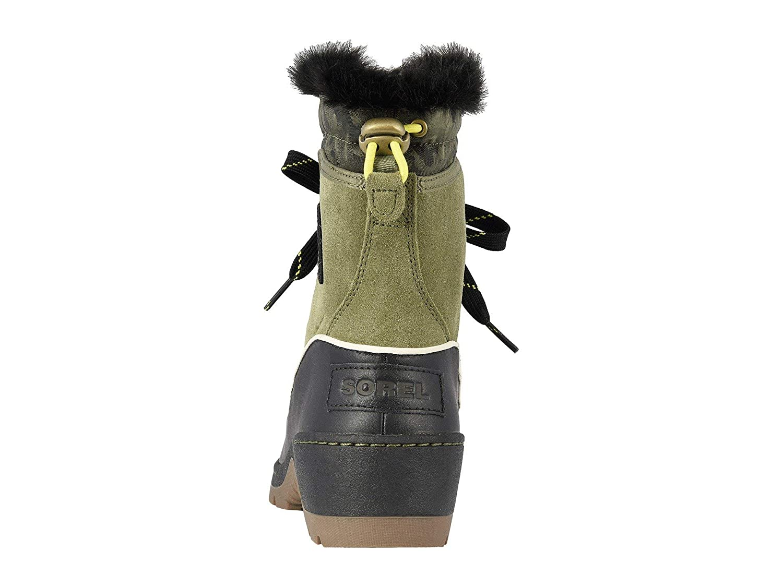 SOREL Womens Tivoli III Snow Boot 9 M US Tobacco//Flax