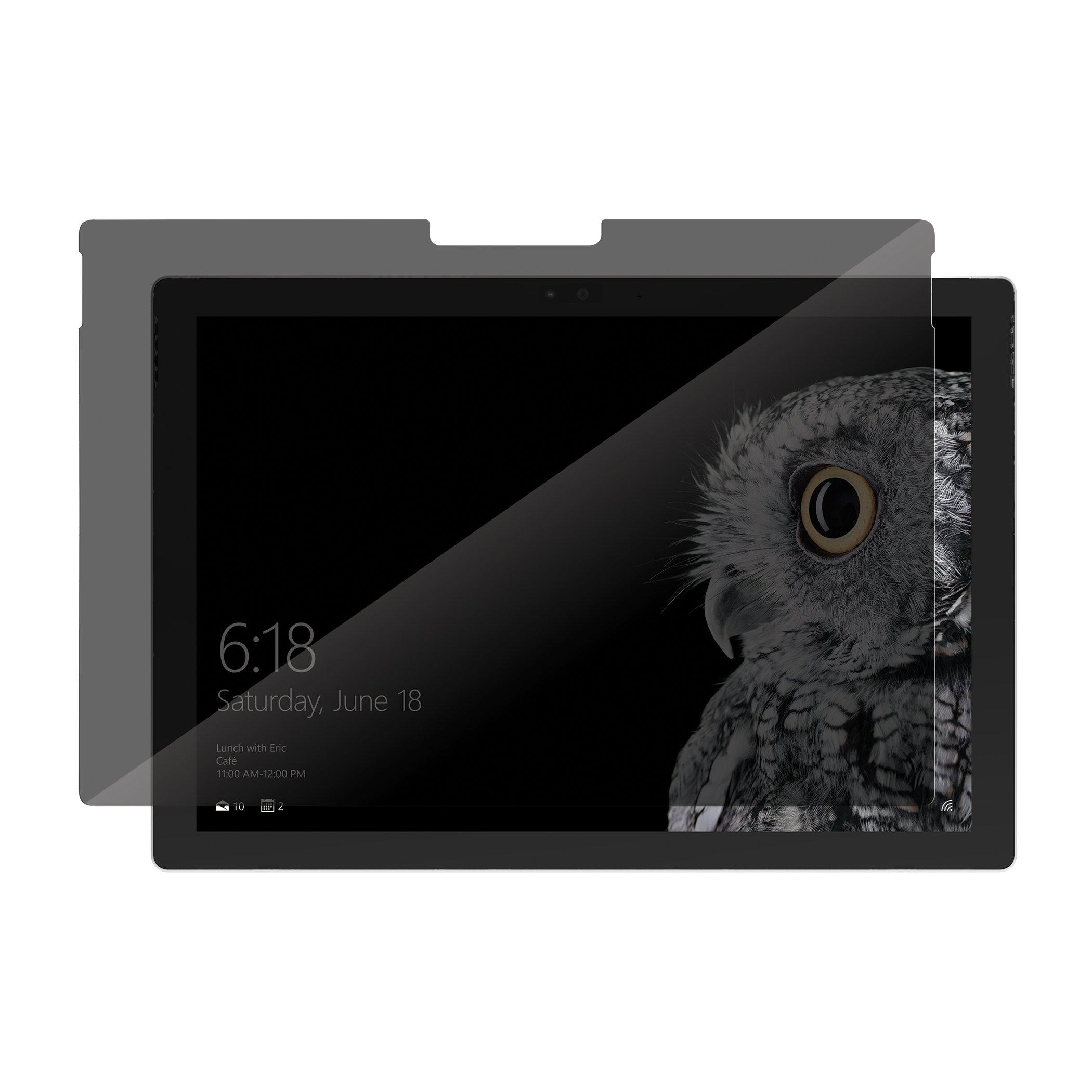 Incipio PLEX Pro Privacy Shield Screen Protector for Microsoft Surface Pro 4 Tablet
