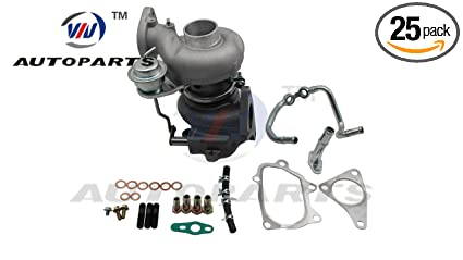 Turbocharger VF52 & Install Kit for Subaru Legacy, Outback GT 2.5L TD EJ25 Gasoline