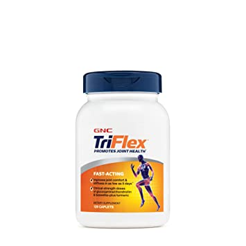 GNC TriFlex FastActing Supplement,120 Caplets, Joint Support