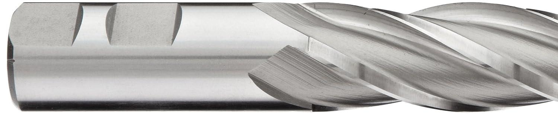 6.25 Overall Length Weldon Shank 0.75 Shank Diameter Extra Long Reach Uncoated 30 Deg Helix 4 Flutes Finish Bright Non-Center Cutting 0.75 Cutting Diameter YG-1 E2036 Cobalt Steel Square Nose End Mill