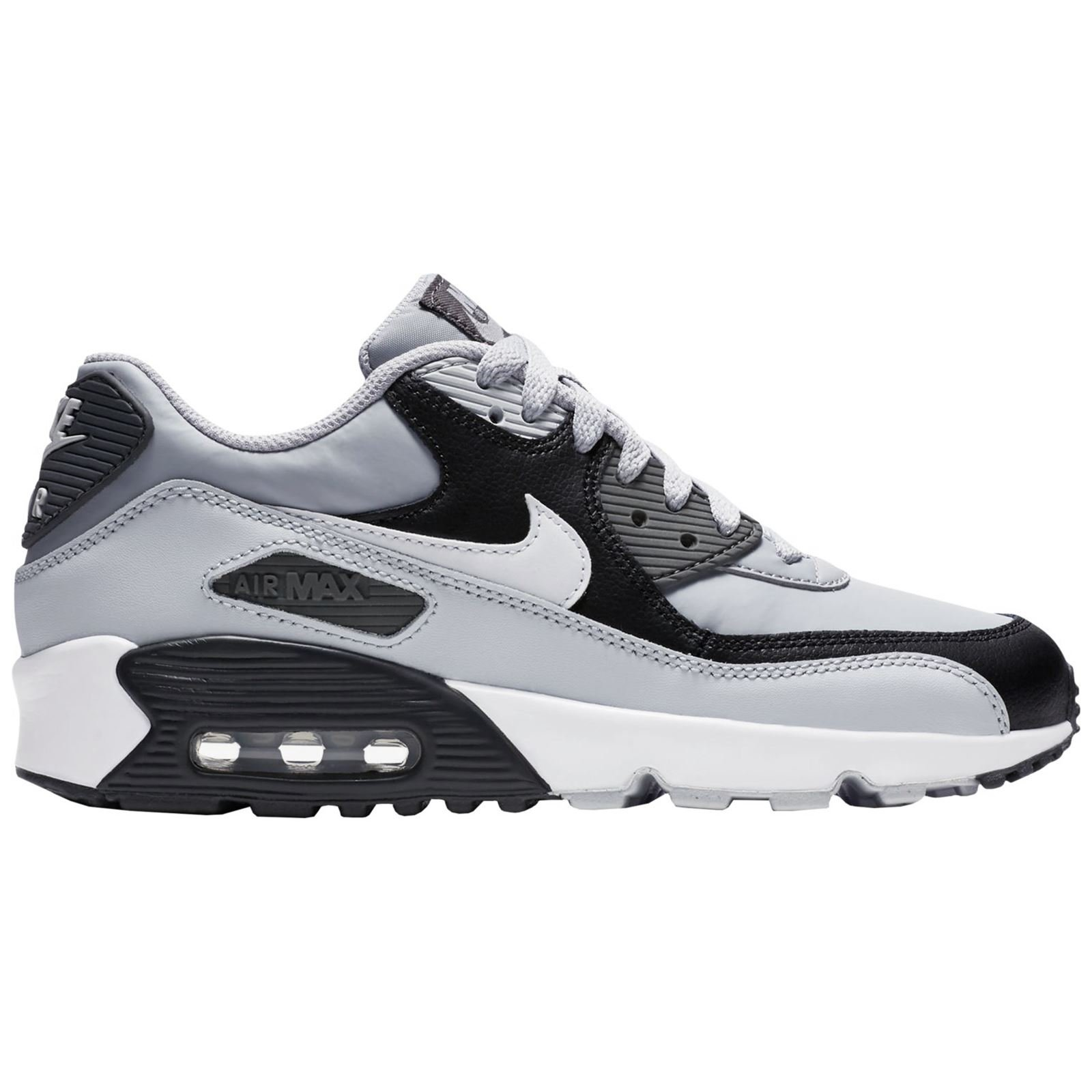 cf02fc8c3a Galleon - NIKE Kids Air Max 90 LTR (GS) Wolf/Grey/White/Pure/Platinum  Running Shoe 5 Kids US