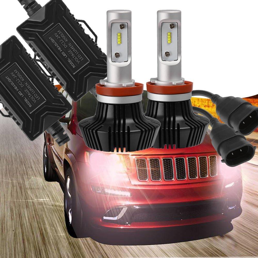 H8 LED Headlight For Volvo 04-15 VN VNL VNM Truck 200 300 430 630 670 730 780