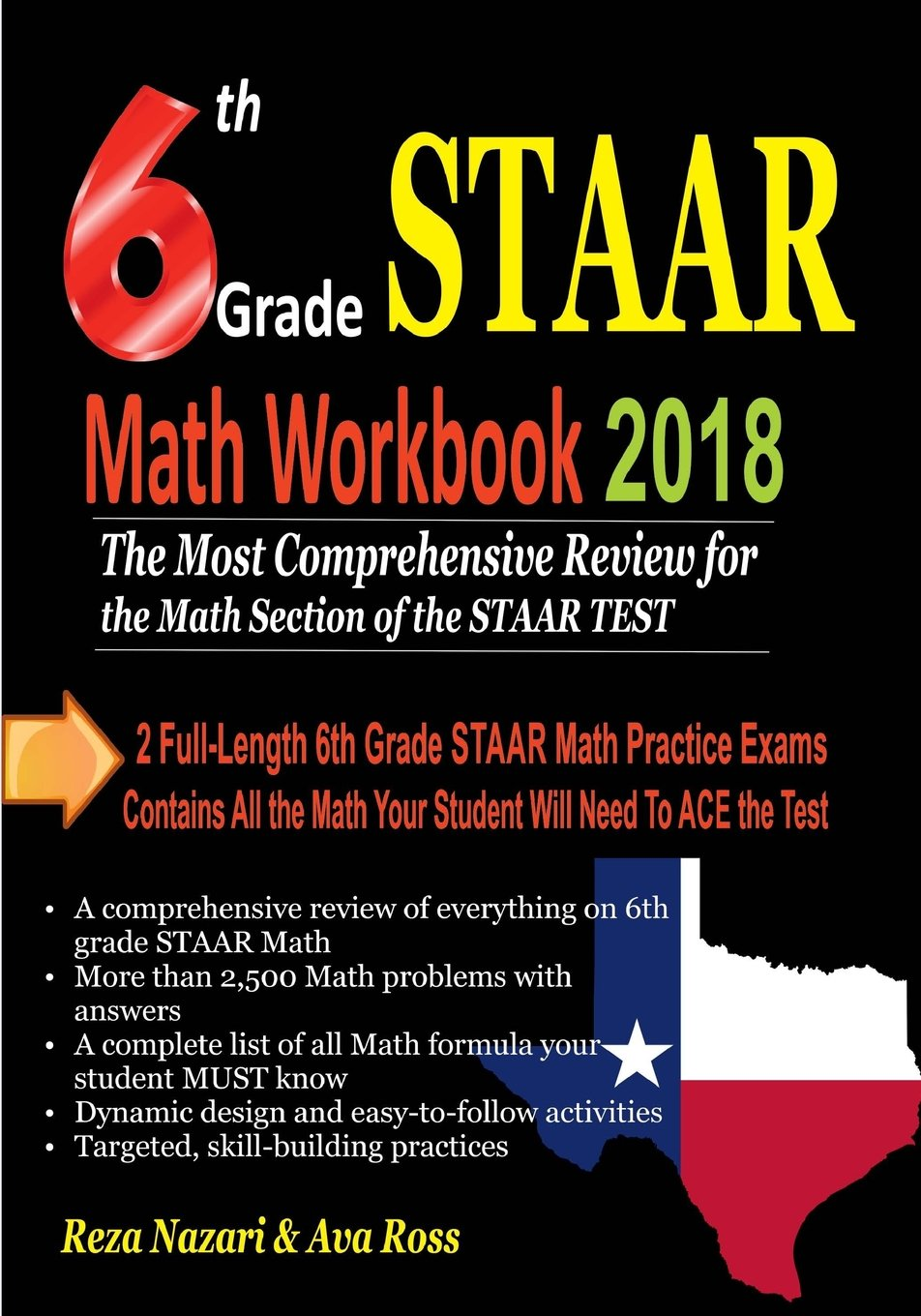 6th Grade STAAR Math Workbook 2018: The Most Comprehensive Review ...