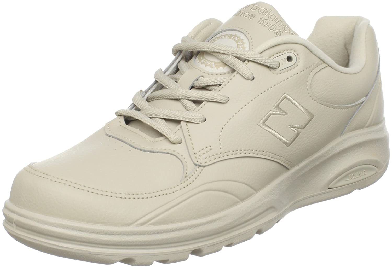 New Balance Men's MW812 Lace-up Walking Shoe 12 4E|Bone