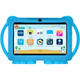 Xgody T702 7 Inch HD Kids Tablet PC for Kids Quad Core Android 8.1 16GB ROM 1GB RAM Touch Screen with WiFi Pre-Loaded 3D Game Dual Camera (Blue)